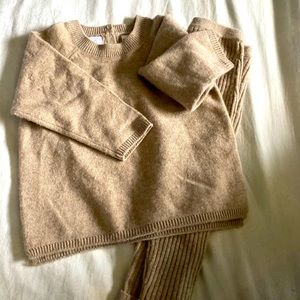 Zara Cashmere baby suit